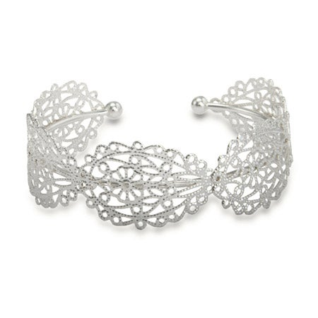 Filigree Design Cuff Bracelet | Eve's Addiction®