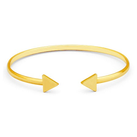 Arrow Gold Cuff Bracelet | Eve's Addiction®