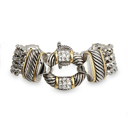 Multi Strand CZ O Bracelet | Eve's Addiction®