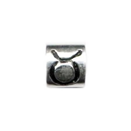 Taurus Sign Bead - Pandora Compatible