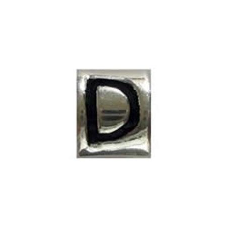 Letter D Bead