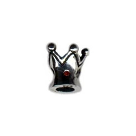 Ruby Stone Crown Oriana Bead | Eves Addiction