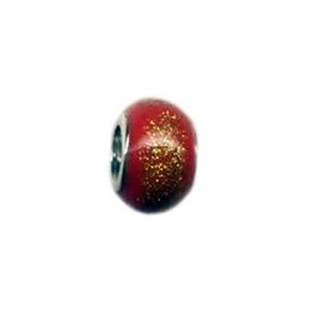 Red Enamel Oriana Bead