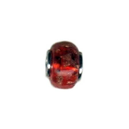 Glitter Red Glass Bead And Red Bead | Eve's Addiction