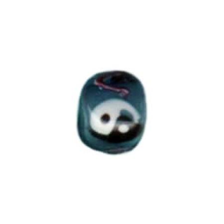 Ying Yang Glass Bead