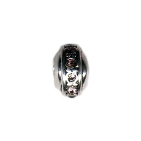 Rondell June Birthstone Bead - Pandora Compatible | Eve's Addiction