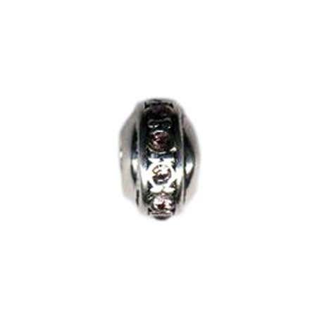Rondell June Birthstone Bead - Pandora Compatible | Eve's Addiction