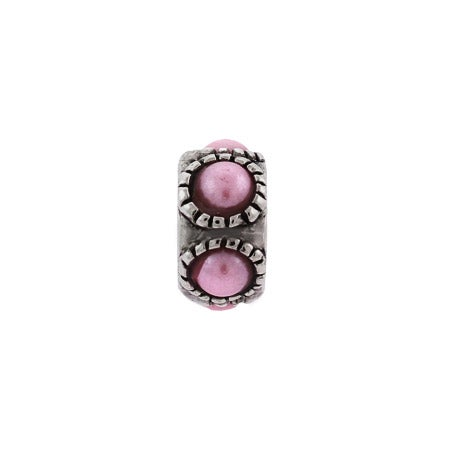 Pink Pearl Bumps Bead