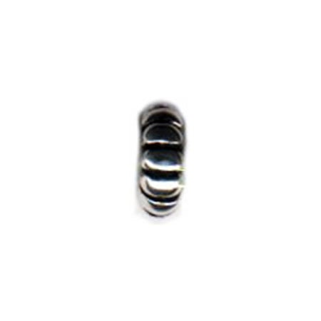 Horizontal Lined Spacer Bead - Pandora Compatible | Eve's Addiction