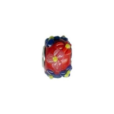 Bouquet of Flowers Glass Bead