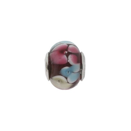 Red Bouquet Glass Oriana Bead