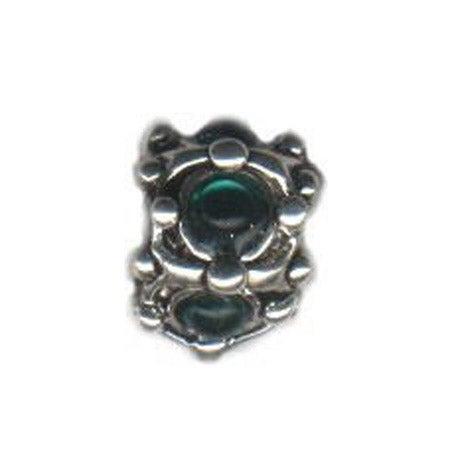 May Birthstone Vintage Inspired Bead | Eve's Addiction