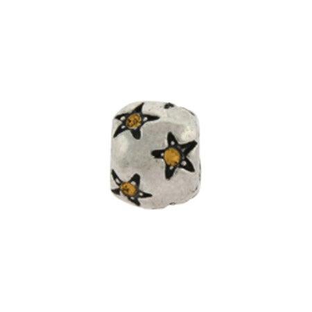 Citrine Stars November Birthstone Bead