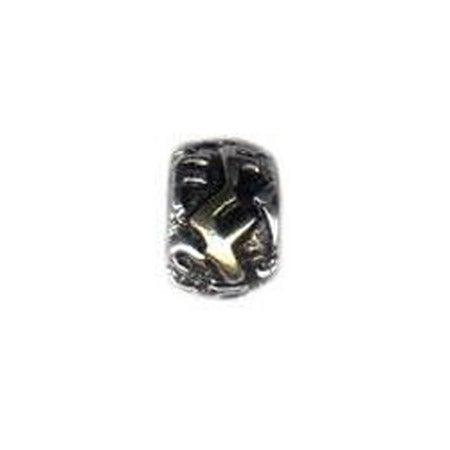 Vintage Letter F Oriana Bead | Pandora Compatible Letter F Bead
