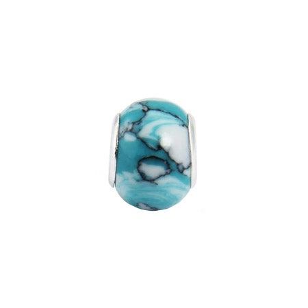 Aqua Turquoise Oriana Bead