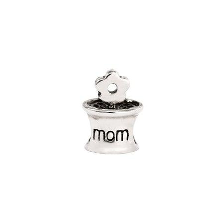 Mom Flower Pot Bead