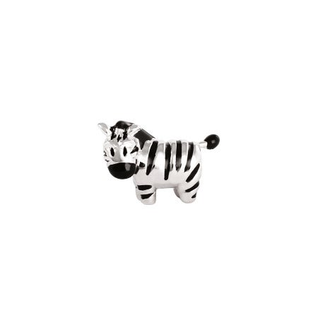 Zebra Bead Pandora Bead Compatible