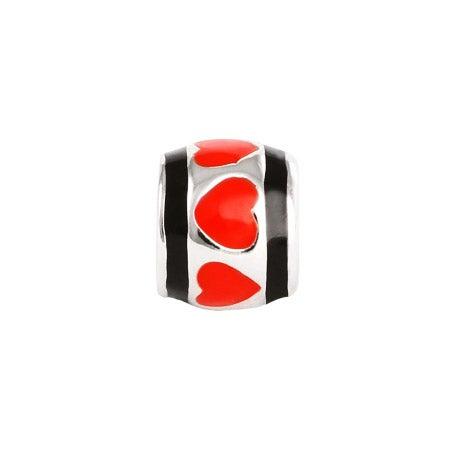 Red Hearts Oriana Bead