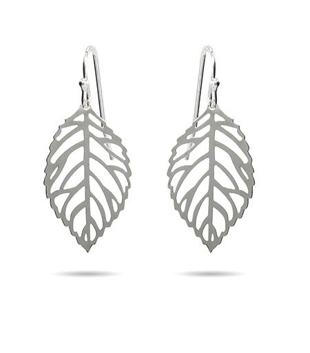 Filligree Autumn Leaf Dangle Earrings | Eve's Addiction®