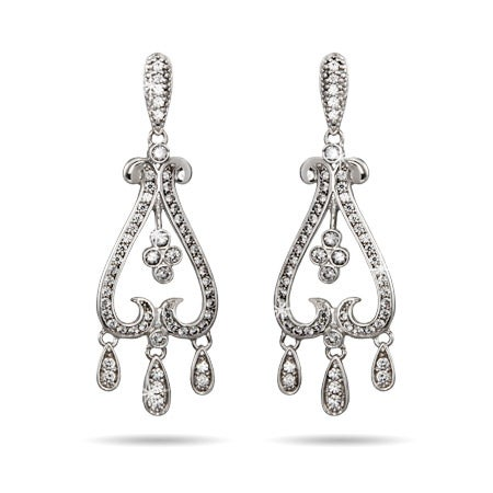 Sparkling Chandelier Style Earrings | Eve's Addiction®
