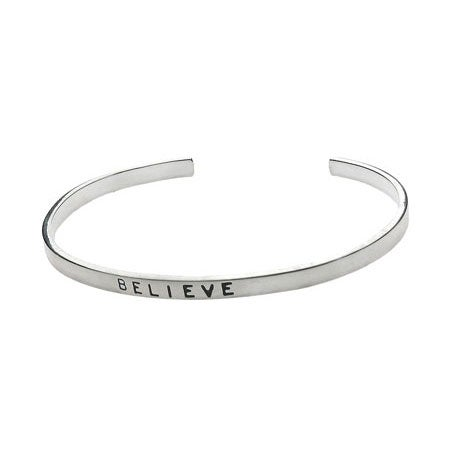 Sterling Silver Friendship Stackable Bracelet | Eve's Addiction®