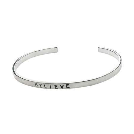 Sterling Silver Friendship Stackable Bracelet
