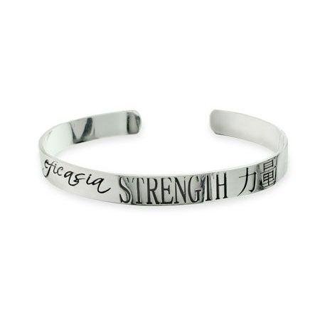 Strength Sterling Silver Universal Harmony Bracelet | Eve's Addiction®