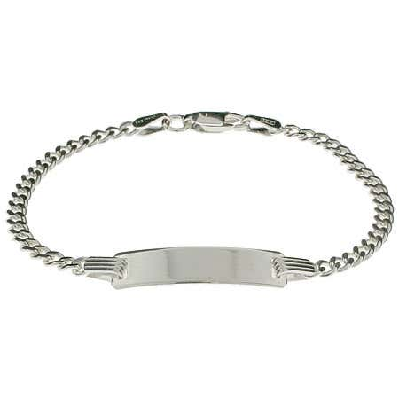 Engravable Curb Link Kids ID Bracelet | Eve's Addiction®