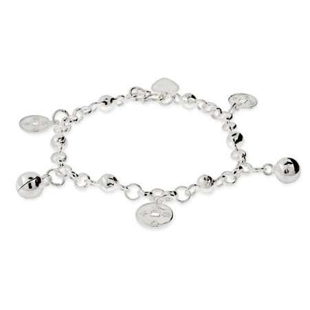 Kids Sterling Silver Chinese Fortune Bracelet | Eve's Addiction®