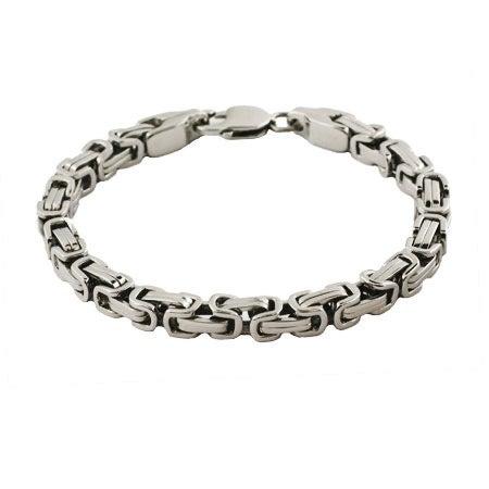 Men's Stainless Steel Bali Link Bracelet   Eve's Addiction®