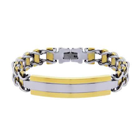 Men's Engravable Urban Style Ladder Link ID Bracelet   Eve's Addiction®