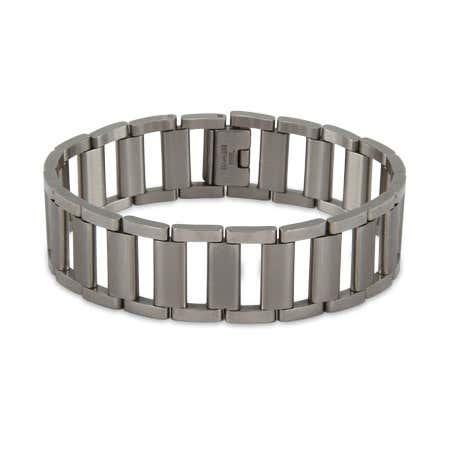 Men's Ladder Link Stainless Steel Bracelet | Eve's Addiction®