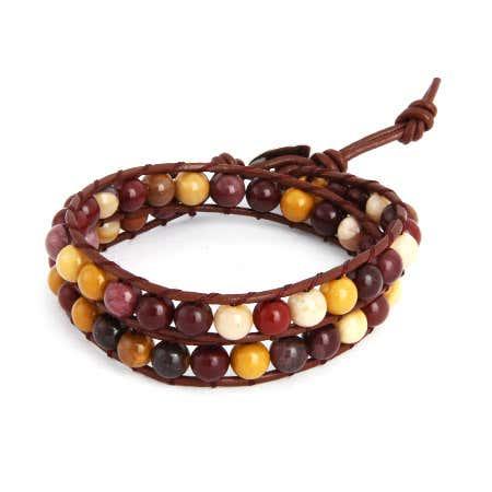 Chen Rai Moukite Bead Wrap Bracelet | Eve's Addiction®