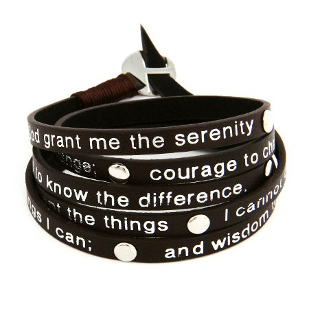 Serenity Prayer Wrap Bracelet | Eve's Addiction®