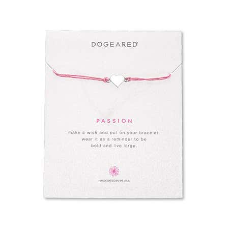Dogeared Passion Irish Linen Bracelet | Eve's Addiction®