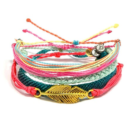 Pura Vida Stackable Bracelet Yoga Girl Pack   Eve's Addiction®