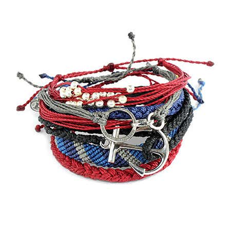 Pura Vida Stackable Bracelet Deep Blue Sea Pack | Eve's Addiction®