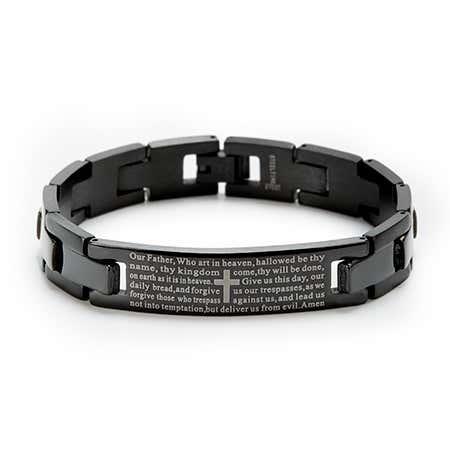 Customizable Lord's Prayer Bracelet
