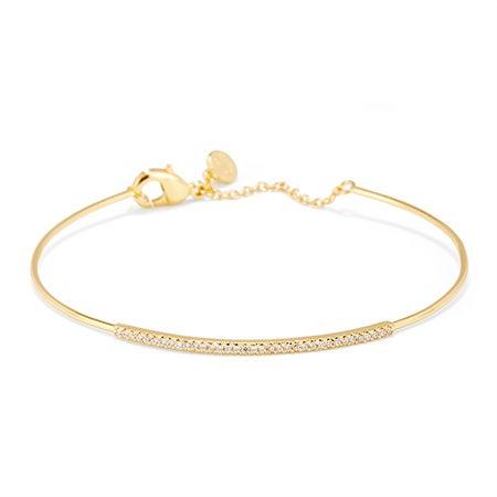 gorjana Shimmer Bar Bracelet in Gold