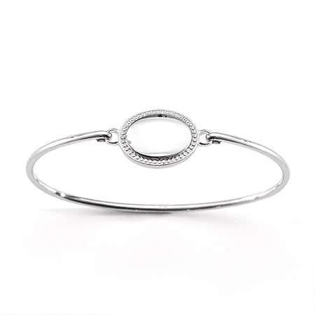 Engravable Baby ID Bangle Bracelet