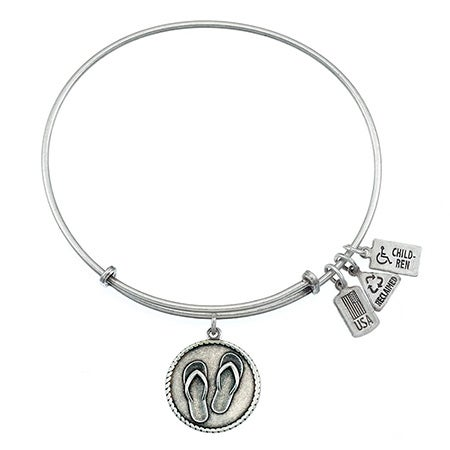 Flip Flops Charm Bangle by Wind & Fire   Eve's Addiction®