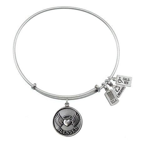 Wind & Fire Blessed Charm Bangle Bracelet | Eve's Addiction®