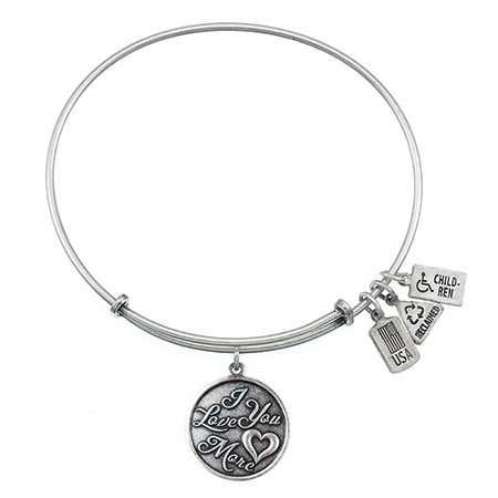 I Love You More Dangling Charm Bracelet by Wind & Fire | Eve's Addiction®