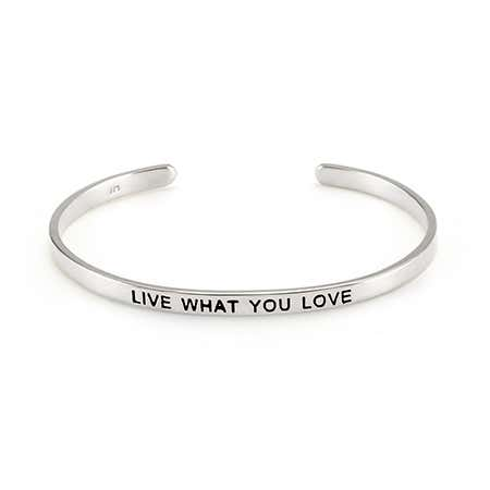 Live What You Love Enamel Bracelet