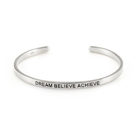 Silver Sterling Message Cuff Message | Eve's Addiction