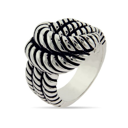 Designer Inspired Rope Knot Ring | Eve's Addiction®