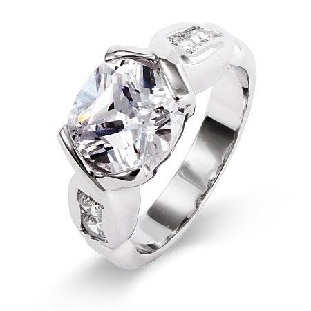 Dazzling Oval Cut CZ Ring | Eve's Addiction®