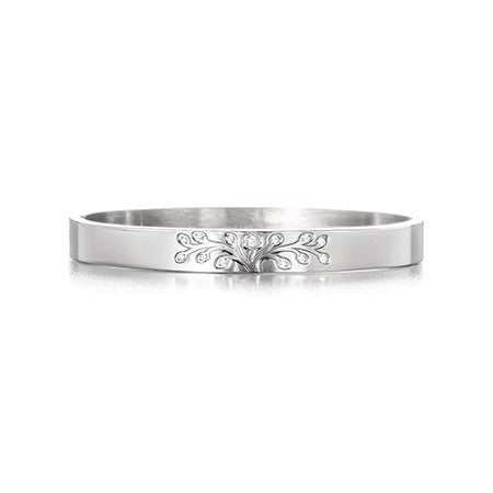 Engravable Tree of Life Bangle Bracelet | Eve's Addiction®
