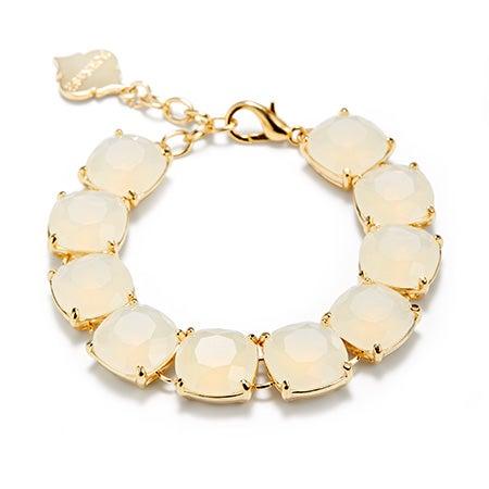 Fornash Charlotte Bracelet with White Stones