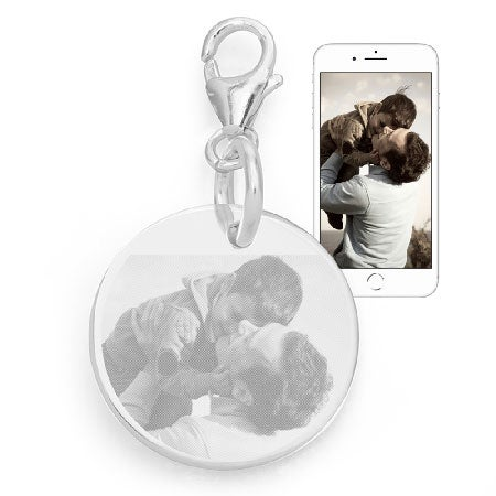 Sterling Silver Photo Charm | Eve's Addiction